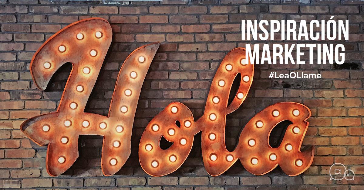 Inspriration Marketing Call The ONE
