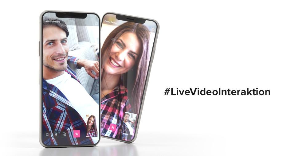 Live Video Interaktion