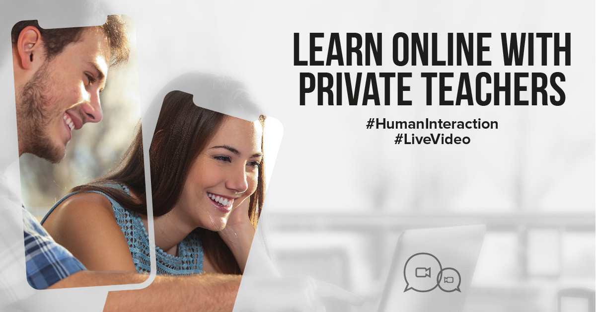 Learn online with a private teacher