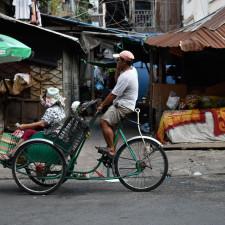 The Rickshaws of Phnom Penh